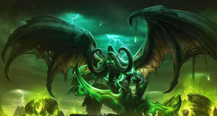 World of Warcraft Legion Illidan