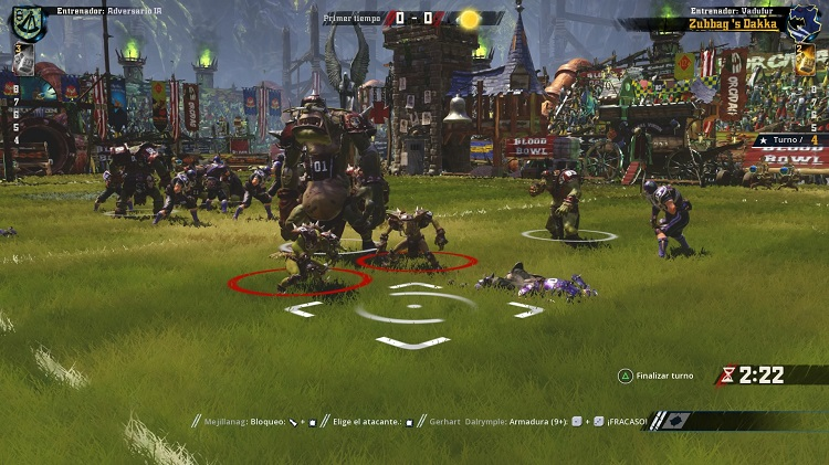 Blood Bowl 2 - Análisis PlayStation 4