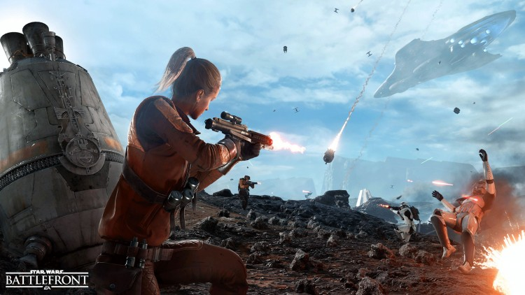 star wars battlefront dropzone dedicados