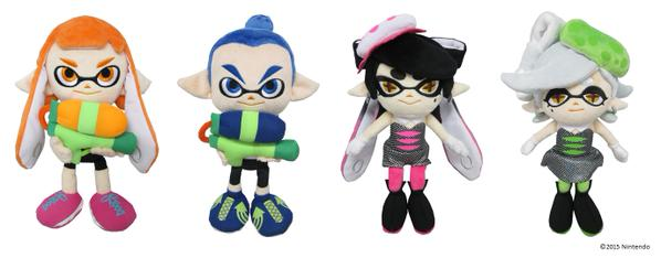Splatoon Peluches