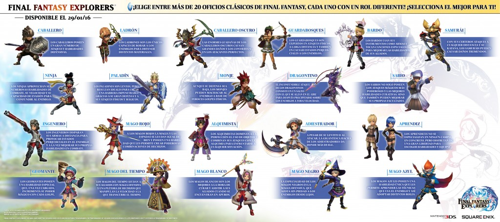 Final Fantasy Explorers_oficios_