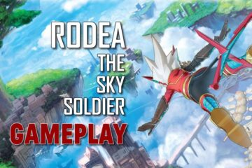 RODEA THE SKY SOLDIER GAMEPLAY