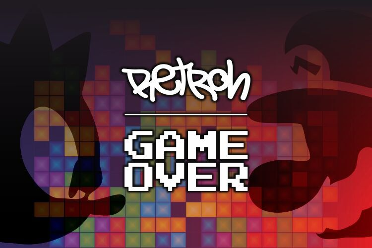 retroh game over