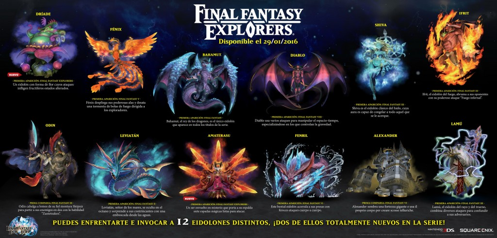 final fantasy explorers eidolones