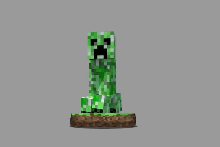 minecraft amiibo creeper