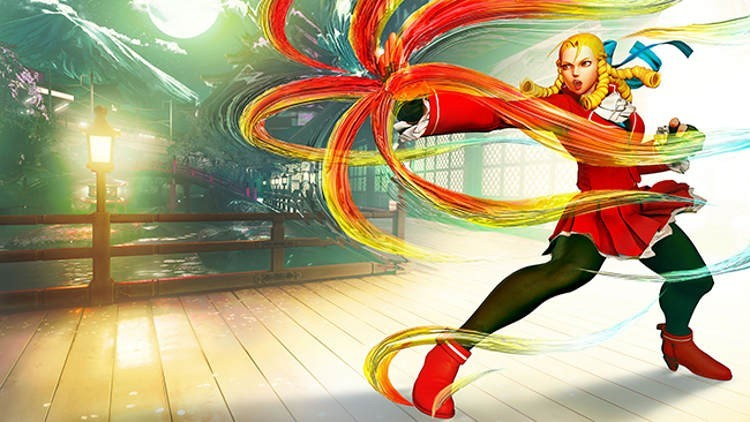 street fighter v gameplay de karin