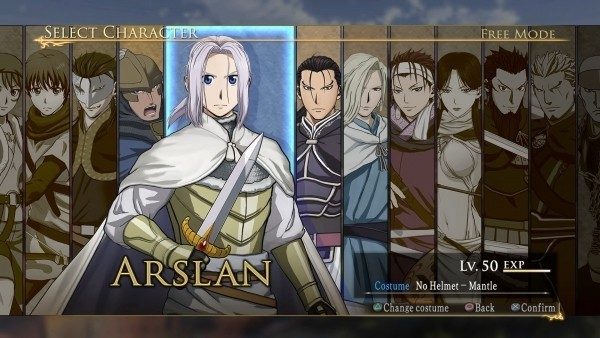 Análisis - Arslan: The Legend of Warrior