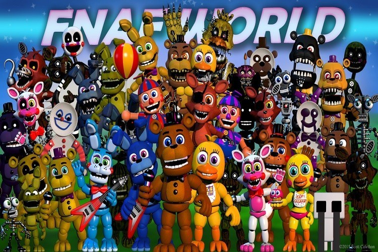 Five Nights At Freddy's World gratis