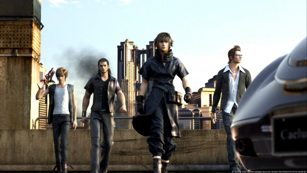 Final Fantasy XV Final Fantasy VII Remake para NX