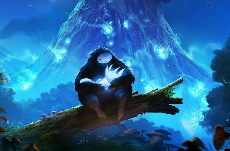 Captura de Ori and the Blind Forest, de Moon Studios