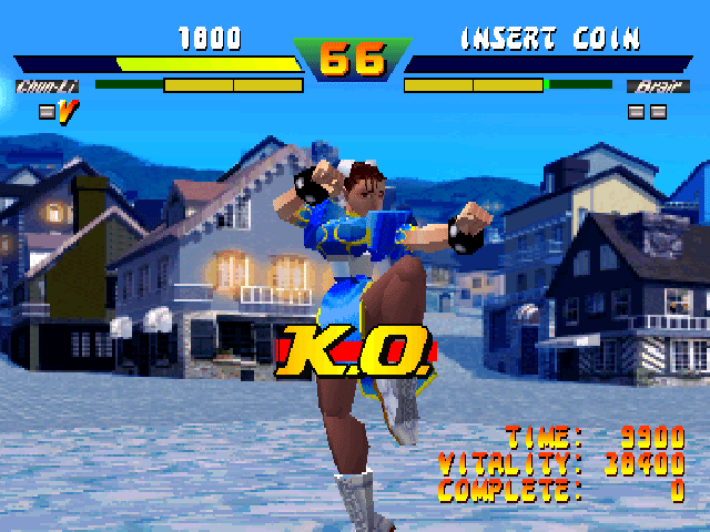 Street Fighter EX retro review