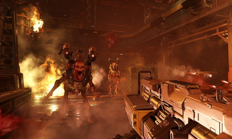 Doom funcionará a 1080p y 60fps en PlayStation 4, Xbox One y PC