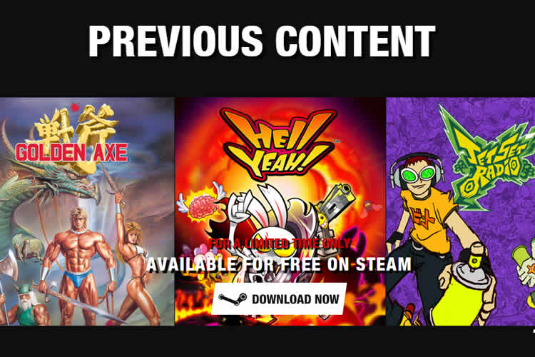 Hell Yeah! Jet Set Radio y Golden Axe gratis en Steam por tiempo limitado