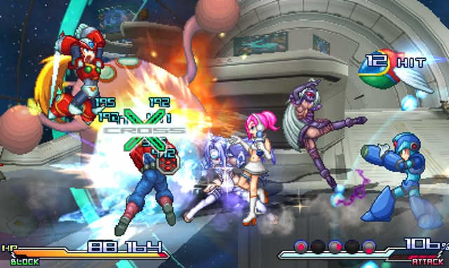 project x zone 2 gameplay