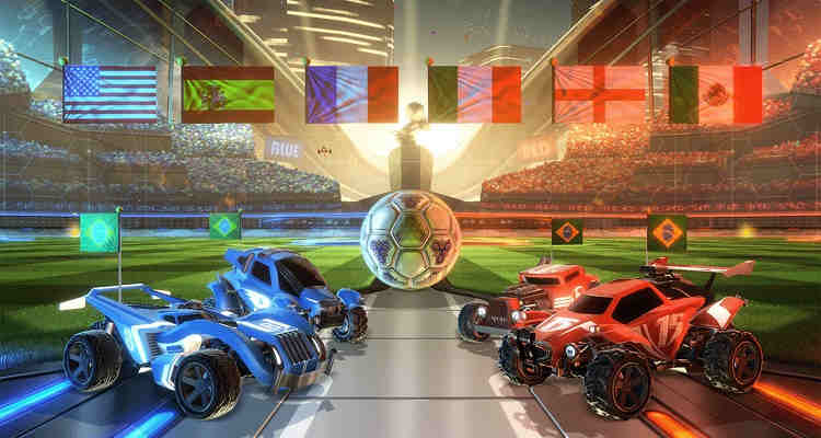 rocket league lanzamiento fisico