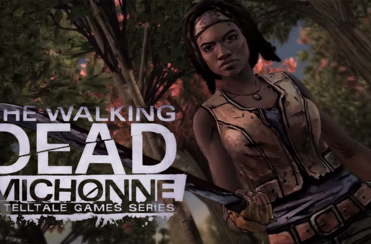 The walking dead michonne primeros minutos gameplay
