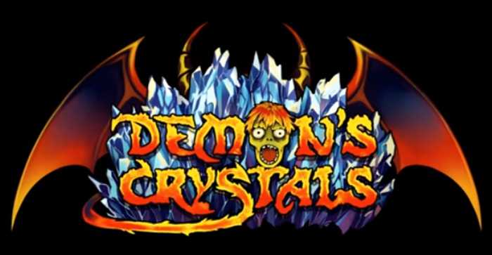 Demon's Crystals Steam Greenlight logo