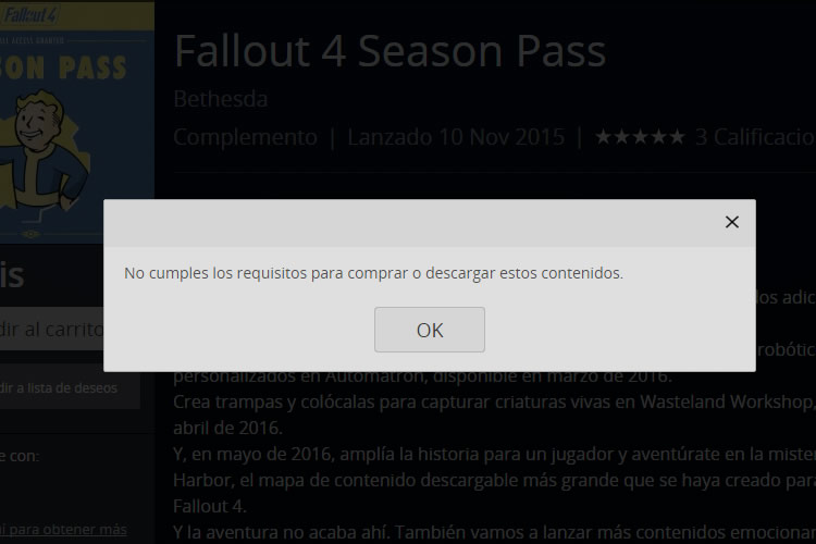 fallout 4 season pass gratis over