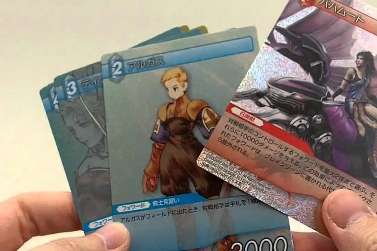 final fantasy trading card game español