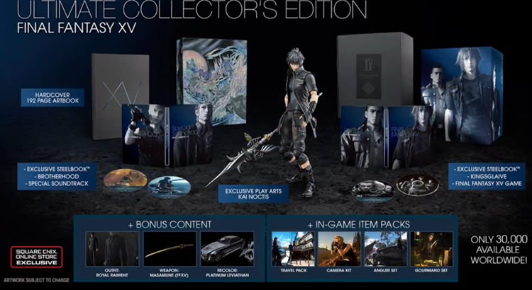 final fantasy xv ultimate edition