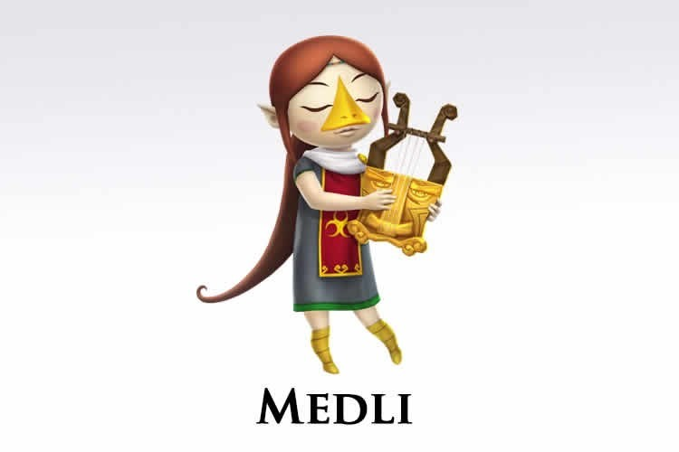 hyrule warriors legends regalará a medli