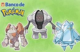 Regirock, Regice y Registeel llegarán de regalo al Banco Pokémon