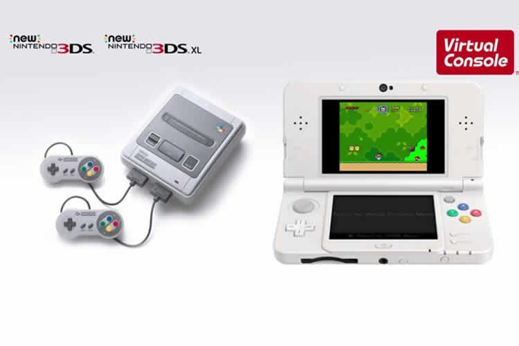 super nintendo en new 3ds en exclusiva
