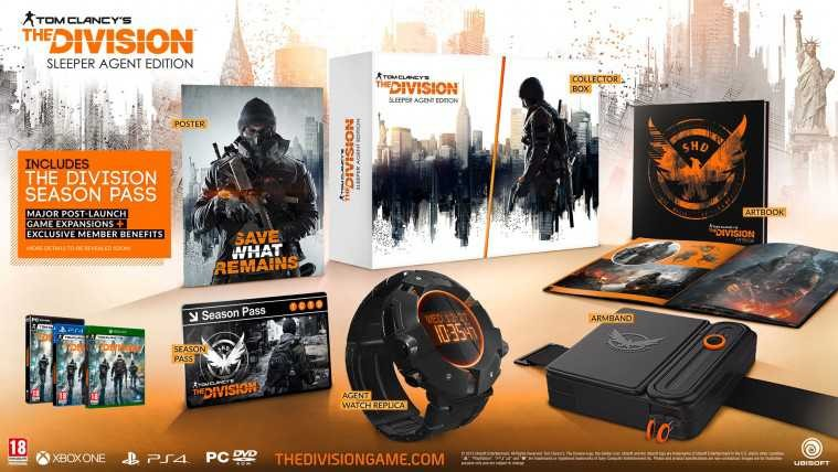 the-division-unboxing-edicion-Sleeper-Agent