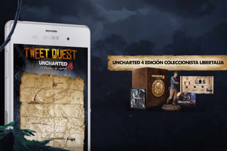 uncharted 4 y su tweet quest