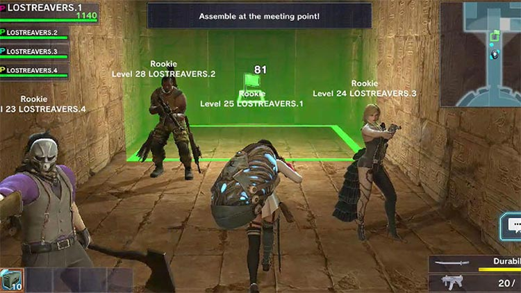 Lost Reavers Beta Impresiones