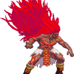 Street Fighter V 16 bits Necalli