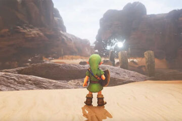Zelda ocarina of time remake unreal