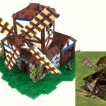 age of empires LEGO molino