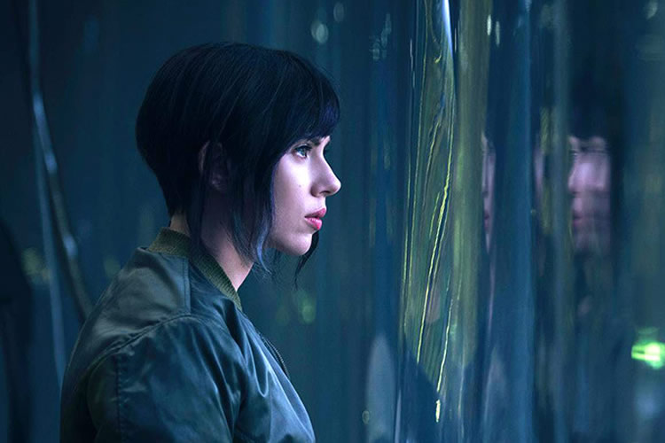 ghost in the shell scarlet johansson