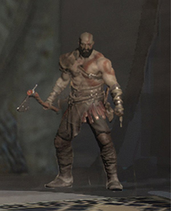 god of war IV kratos