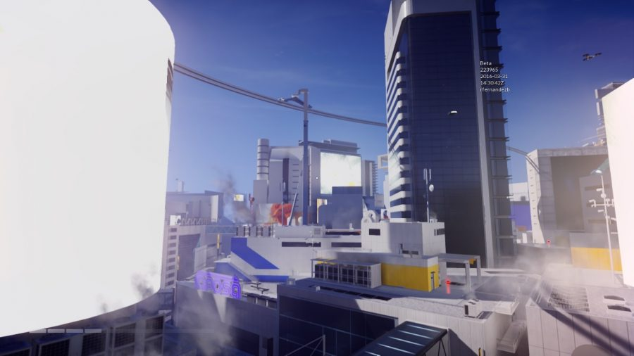 mirrors edge catalyst impresiones