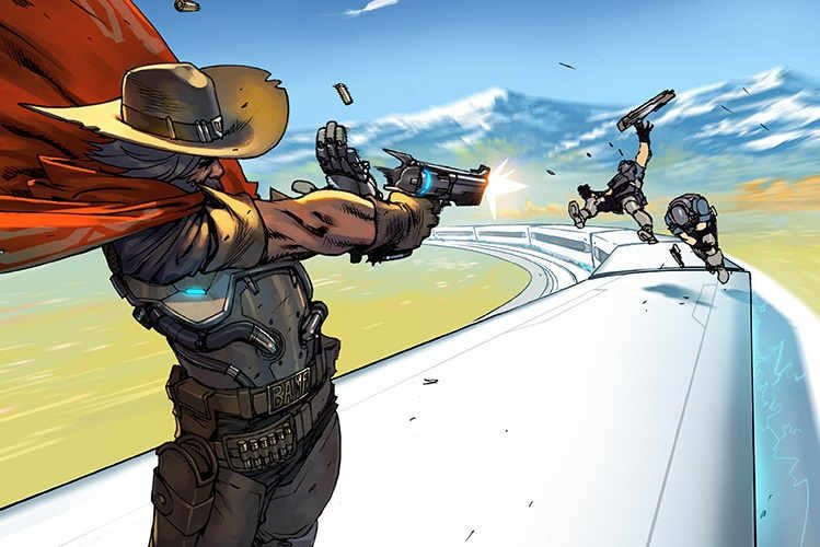 overwatch mccree comic