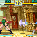street fighter v 16 bits cammy vs chun li