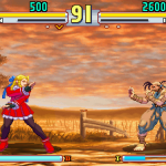street fighter v 16 bits karin vs