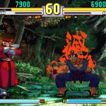 street fighter v 16 bits m bison vs akuma