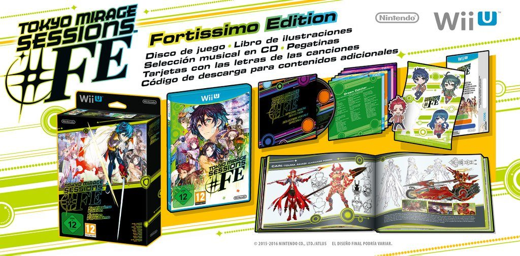 tokyo mirage sessions fe fortissimo edition