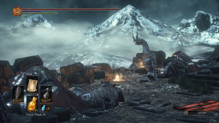 transformarse en dragon en dark souls 3