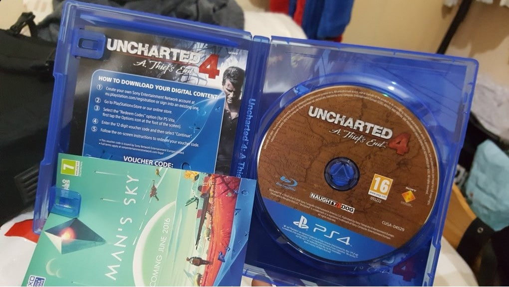 Uncharted 4, las copias vendidas eran robadas