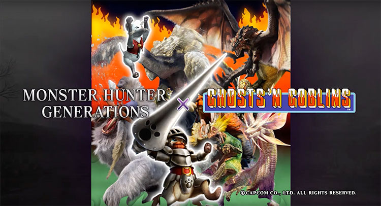 Monster Hunter Generations Ghosts 'n Goblins