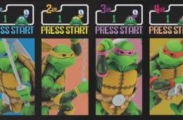 Las figuras de TMNT del arcade de Konami que necesitas en tu vida