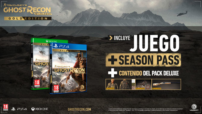 ghost recon wildlands trailer ediciones especiales