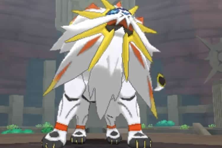pokémon sol pokemon luna legendario león