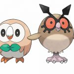 pokemon sol pokemon luna hoothoot rowlet