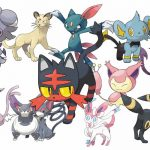 pokemon sol pokemon luna kitten gatos