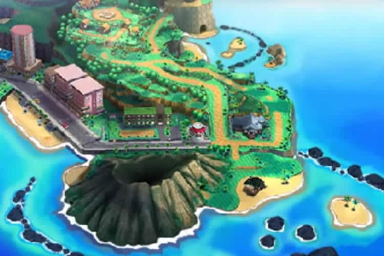 pokemon sol pokemon luna mapa